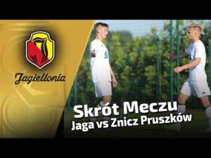Skrót meczu – Jaga vs Znicz Pruszków (6:1)