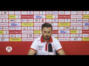 Trener gości po meczu| PUSZCZA TV
