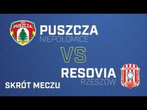 SKRÓT Puszcza-Resovia 0-3| PUSZCZA TV