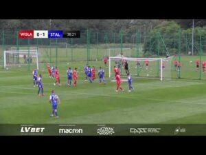 Skrót meczu: Wisła Kraków – Stal Mielec