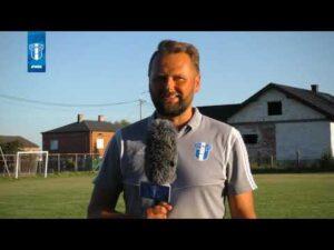 Trener Wisły II Płock Marek Brzozowski po meczu z Unią Czermno