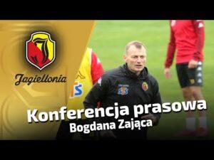 Konferencja prasowa trenera Bogdana Zająca