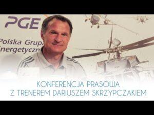 TV Stal: Konferencja prasowa z trenerem Dariuszem Skrzypczakiem