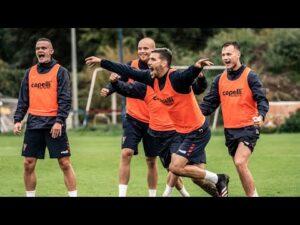 """Drugi piątkowy trening Portowców – Triumf """"Pomarańczowych"""""""