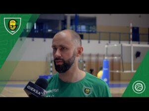 Trener Grzegorz Słaby przed startem nowego sezonu PlusLigi (9.09.2020)