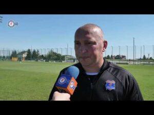 Raport przed GKS-em Bełchatów – trener Mariusz Lewandowski