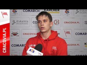 Mateusz Bezwiński po meczu z STS Sanok (01.09.2020)