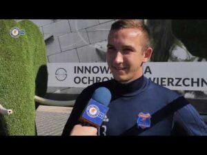Mateusz Grzybek zapowiada mecz z GKS-em Bełchatów