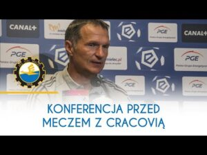 TV Stal: Konferencja prasowa przed meczem z Cracovią