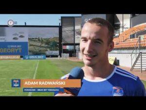 Adam Radwański o pierwszych tygodniach w Niecieczy