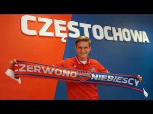Petar Mamić po podpisaniu kontraktu z Rakowem