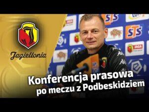 Konferencja prasowa po meczu z Podbeskidziem