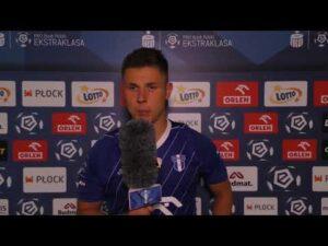 Damian Rasak po meczu Wisła Płock – Legia Warszawa (11 września 2020)