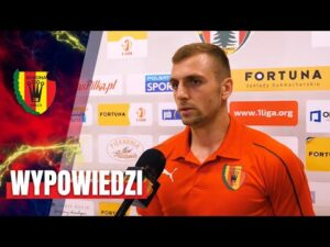 Zawodnicy po meczu z Puszczą Niepołomice (11.09.2020)