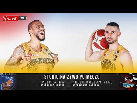 Studio na żywo po meczu Polpharma Starogard Gdański – Arged BMSLAM Stal