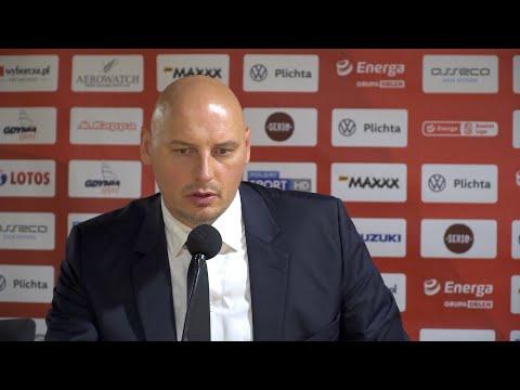 Asseco Arka Gdynia vs. BM Slam Stal Ostrów Wielkopolski – konferencja prasowa – 03.09.2020