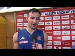 Asseco Arka Gdynia vs. BM Slam Stal Ostrów Wielkopolski – wywiady – 03.09.2020