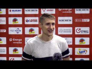 Kacper Radwański po meczu GTK Gliwice – Polski Cukier Toruń