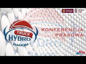 Konferencja prasowa po meczu HydroTruck Radom – Stelmet Enea BC Zielona Góra