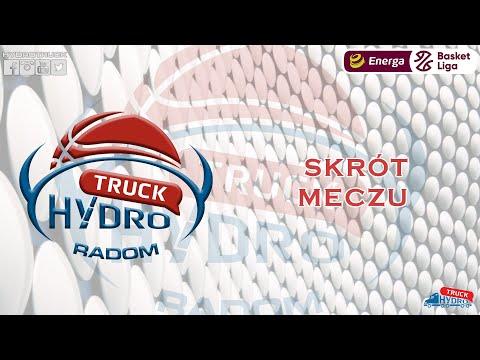 Skrót meczu HydroTruck Radom – Stelmet Enea BC Zielona Góra