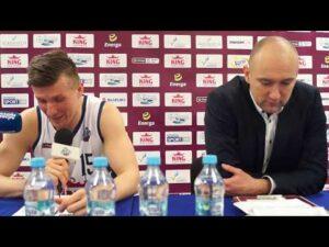 Konferencja po meczu King Szczecin – Legia Warszawa 111:89