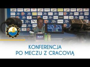 TV Stal: Konferencja po meczu z Cracovią