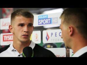2020-09-12 GKS Tychy – Sandecja 2-0 (1-0), Adrian Danek
