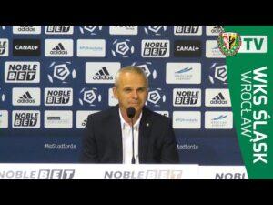 Konferencja prasowa po meczu z Lechem Poznań