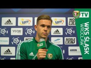 Mathieu Scalet po meczu z Lechem Poznań
