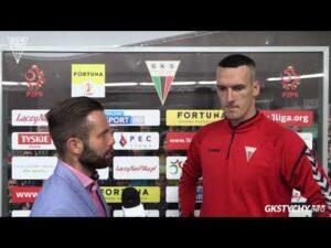 Read more about the article 3. kolejka Fortuna1Liga: Opinia Konrada Jałochy po meczu GKS Tychy – Sandecja Nowy Sącz 2:0