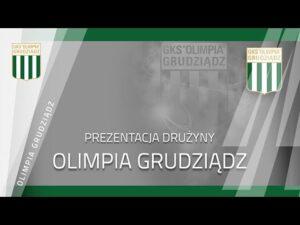 Prezentacja drużyny Olimpii Grudziądz jesień 2020