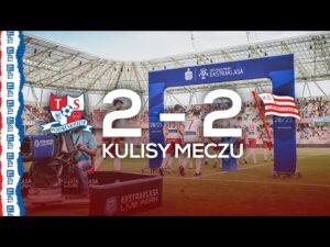 PIERWSZY PUNKT W EKSTRAKLASIE! | Kulisy meczu Podbeskidzie – Cracovia