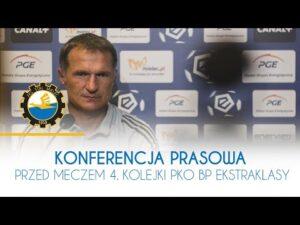 TV Stal: Konferencja prasowa przed meczem 4. kolejki PKO BP Ekstraklasy