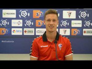Alex Sobczyk przed meczem z Legią (18.09.2020)