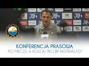 TV Stal: Konferencja prasowa po meczu 4. kolejki PKO BP Ekstraklasy