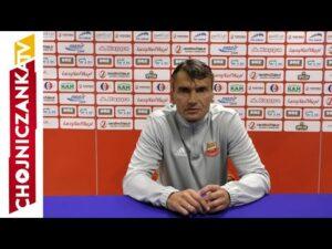 Trener Adam Nocoń po meczu z Olimpią Elbląg