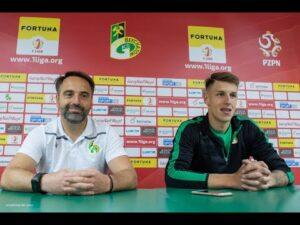 Konferencja prasowa po meczu GKS Bełchatów – GKS Tychy 1:1
