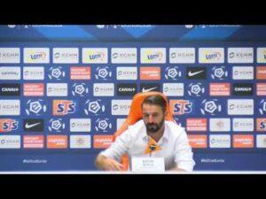 Konferencja prasowa po meczu KGHM Zagłębie Lubin – Cracovia | LIVE