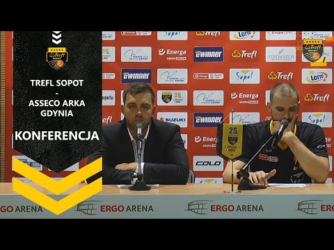 Konferencja po meczu Trefl Sopot – Asseco Arka Gdynia | Trefl Sopot