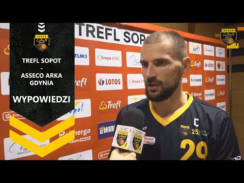Wypowiedzi po meczu Trefl Sopot – Asseco Arka Gdynia | Trefl Sopot