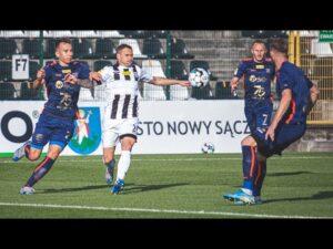 2020-09-19 Sandecja – Odra Opole 1-2 (0-1), skrót meczu