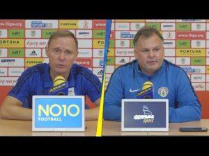 Arka Gdynia – Puszcza Niepołomice 3-2: Konferencja prasowa