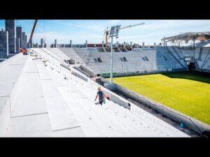 Read more about the article Raport z budowy stadionu ŁKS | Wrzesień 2020