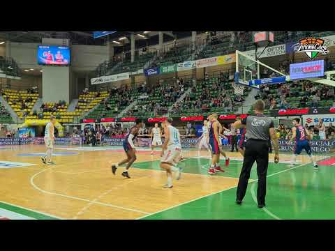 Stelmet Enea BC Zielona Góra – King Szczecin 92:72 (skrót meczu)