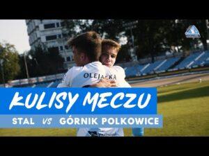 Kulisy meczu Stal Rzeszów – Górnik Polkowice (29.08.2020)