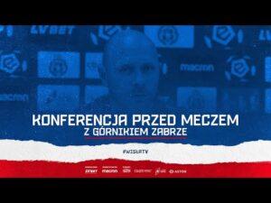 Konferencja prasowa przed meczem z Górnikiem Zabrze (24.09.2020)