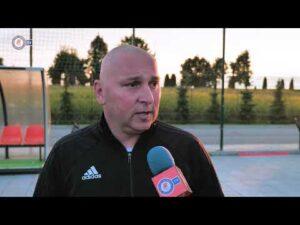 Trener Mariusz Lewandowski przed meczem z Arką