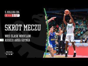 #5 SKRÓT: WKS Śląsk Wrocław – Asseco Arka Gdynia 85:74