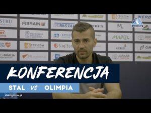 Konferencja po meczu Stal Rzeszów – Olimpia Elbląg (25.09.2020)