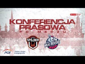 Read more about the article Konferencja prasowa po meczu PGE Spójnia Stargard – King Wilki Morskie Szczecin